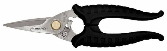 Строительные ножницы прямые 183 мм matrix 78307