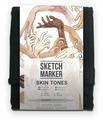 SketchMarker Набор маркеров Skin Tones, 12 шт.