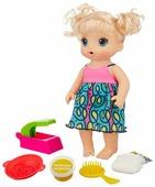 Интерактивная кукла Hasbro Baby Alive Малышка и лапша, 33 см, C0963