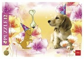 Рамка-вкладыш Hatber Little Friends Забавный щенок (12ПЗ4_09335), 12 дет.