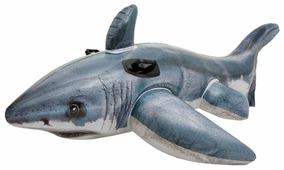 Надувная игрушка-наездник Intex Акула 57525