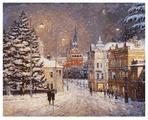 """Белоснежка Картина по номерам """"Снег на Волхонке"""" 40х50 см (076-AB)"""