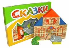 Кубики Томик Теремок 4534-3