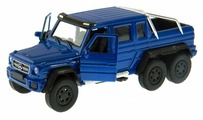 Внедорожник Welly Mercedes-Benz G63 AMG 6x6 (43704)