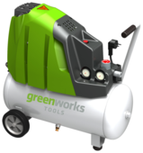 Компрессор greenworks GAC24L