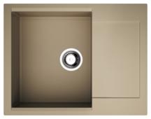 Врезная кухонная мойка OMOIKIRI Daisen 65 65х51см искусственный гранит