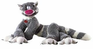 Мягкая игрушка Fancy Кот Бекон серый 30 см