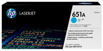 Картридж HP CE341A