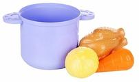 Набор продуктов с посудой Пластмастер Супчик 22153