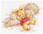 Алиса Набор для вышивания крестиком Дочурка 25 х 19 см (4-06)