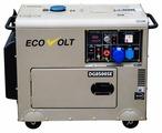 Дизельный генератор Ecovolt DG7500SE-3 (5000 Вт)