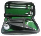 Набор для гольфа Partida c автоматической лузой в кожаном кейсе (lac-1014)