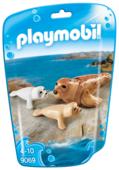 Набор с элементами конструктора Playmobil Family Fun 9069 Семья тюленей