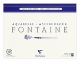 Скетчбук для акварели Clairefontaine Fontaine 56 х 42 см, 300 г/м², 25 л.