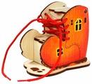Шнуровка Woody Башмачок (0-0679)