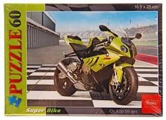 Пазл Hatber Мотоцикл (60ПЗ5_09232), 60 дет.