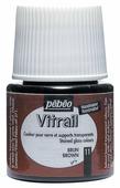 Краски Pebeo Vitrail Коричневый 050011 1 цв. (45 мл.)