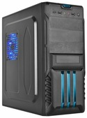Компьютерный корпус STC 4135B w/o PSU Black/blue