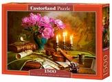 Пазл Castorland Still Life with Violin and Flowers (C-151530), 1500 дет.