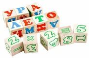 Развивающая игра Томик Кубики. Алфавит и цифрами / 2222-2