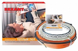 Электрический теплый пол REXANT RND-10-150 150Вт
