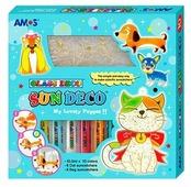 Набор для творчества AMOS Собаки и Кошки 22937 10 цв. (10.5 мл.)
