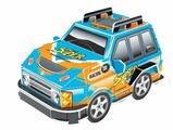3D-пазл Pilotage 3D Машина S синяя (RC39890), 12 дет.