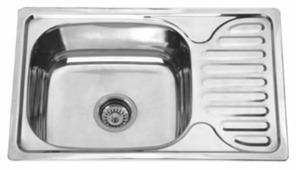 Врезная кухонная мойка MELANA MLN-6642