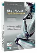 ESET NOD32 Small Business Pack (5 ПК, 1 год) только лицензия