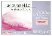 Альбом для акварели Fabriano Fabriano Artistico Extra White 45.5 х 30.5 см, 300 г/м², 20 л.