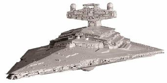 Сборная модель ZVEZDA Имперский звёздный разрушитель (9057) 1:2700