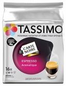 Капсулы для кофемашин капсульного типа Bosch TASSIMO Карт Нуар Эспрессо Аромати (упак.:16шт)
