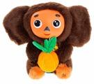 Мягкая игрушка Мульти-Пульти Чебурашка с апельсином 17 см