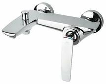 Смеситель для ванны с душем Rubineta Aero-10 однорычажный хром