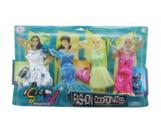 Junfa toys Комплект одежды и аксессуаров для кукол 29 см 3312-A в ассортименте