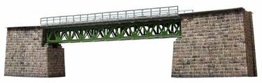 Сборная модель Умная Бумага Железнодорожный мост (380) 1:87