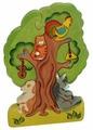 Пазл Сказки дерева Кошки на дереве (08019), 11 дет.