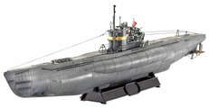 Сборная модель Revell German Submarine TYPE VII C/41 Atlantic Version (05100) 1:144