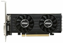 Видеокарта MSI Radeon RX 550 1203Mhz PCI-E 3.0 2048Mb 7000Mhz 128 bit DVI HDMI HDCP LP OC