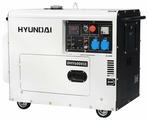 Дизельный генератор Hyundai DHY-6000 SE (5000 Вт)