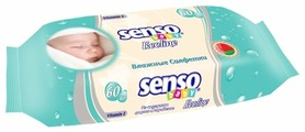 Влажные салфетки Senso Baby Ecoline