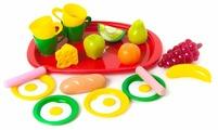 Набор продуктов с посудой Orion Toys Завтрак 955в2
