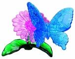 3D-пазл Crystal Puzzle Голубая бабочка (90122), 38 дет.
