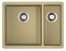 Врезная кухонная мойка OMOIKIRI Kata 55-2-U 55х42см искусственный гранит
