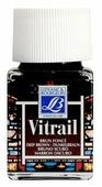 Краски LEFRANC & BOURGEOIS Vitrail Насыщенный коричневый 102 LF210232 1 цв. (50 мл.)