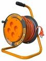 Glanzen Удлинитель силовой на катушке 4 гн. ПВС 2х1 ЕВ-30-004