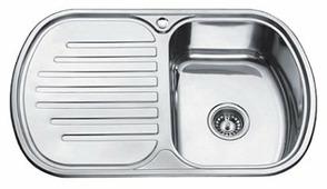 Врезная кухонная мойка Ledeme L67749-6R 77х49см нержавеющая сталь