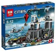 Конструктор Lepin Cities 02006 Остров-тюрьма