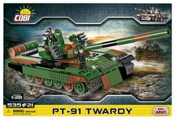 """Конструктор Cobi Small Army 2612 Польский танк PT-91 """"Тварды"""""""