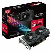 Видеокарта ASUS Radeon RX 560 1275Mhz PCI-E 3.0 4096Mb 7000Mhz 128 bit DVI HDMI HDCP Strix Gaming